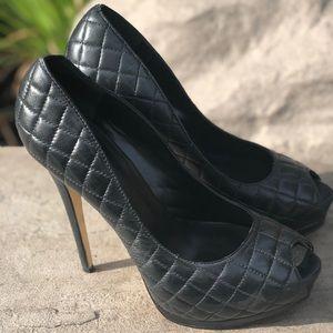 """4"""" Bebe Black Heels"""